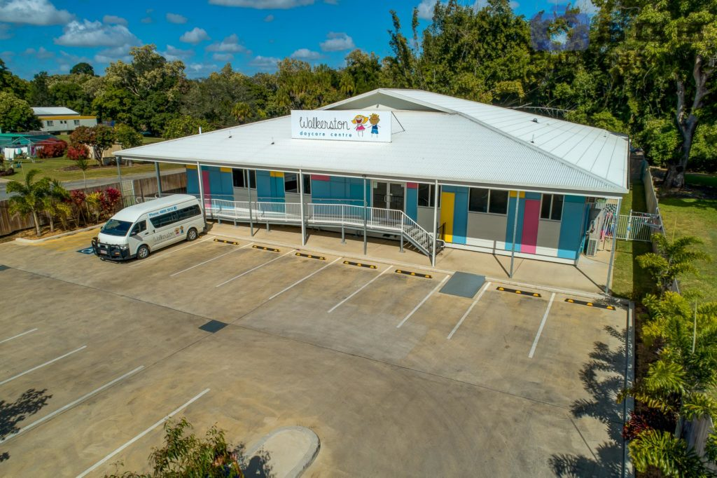 SGB Photography-Childcare Aerial Showing Front of Building